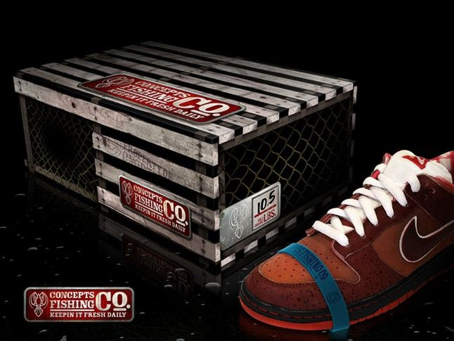 Nike Sb Concepts Lobster Dunk 1