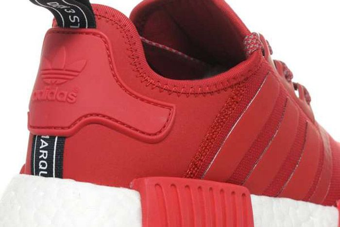 Adidas Nmd R1 Red White 1