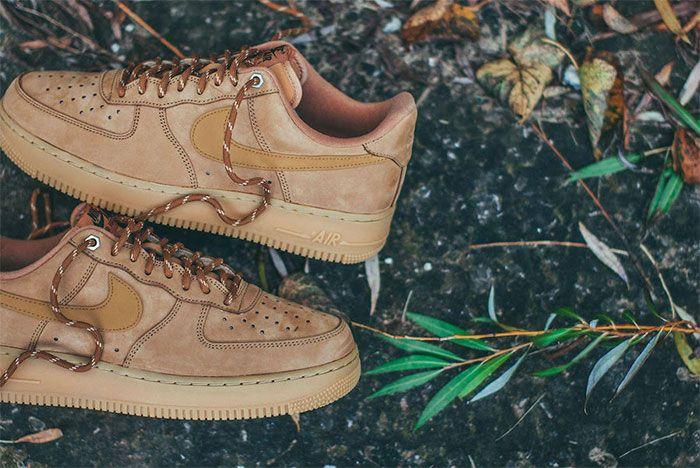 Nike Air Force 1 Wheat Heel 2