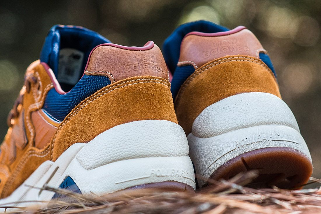 New Balance 580 Brown Leather 7