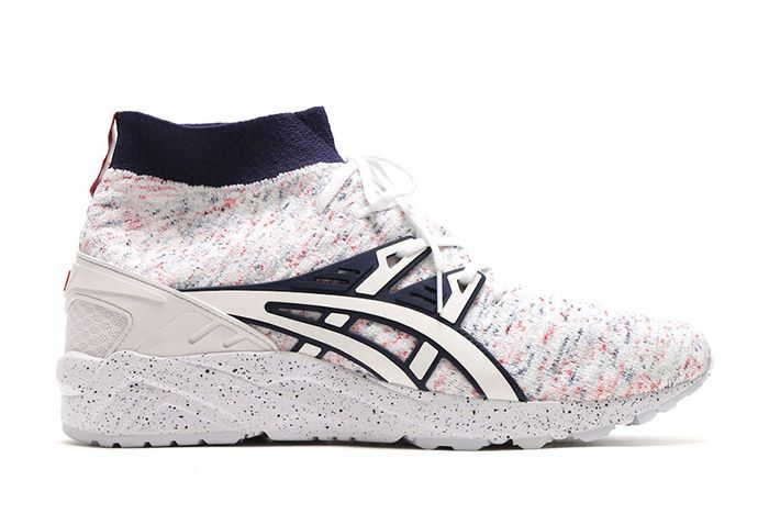 Asics Gel Kayano Trainer Knit Mt White Speckle 5