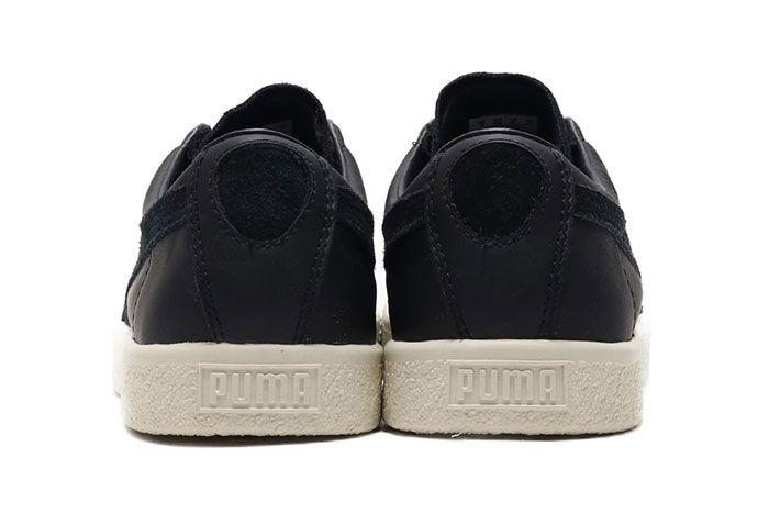 Puma Basket 90680 Black Suede Shoe Release 16 Heel