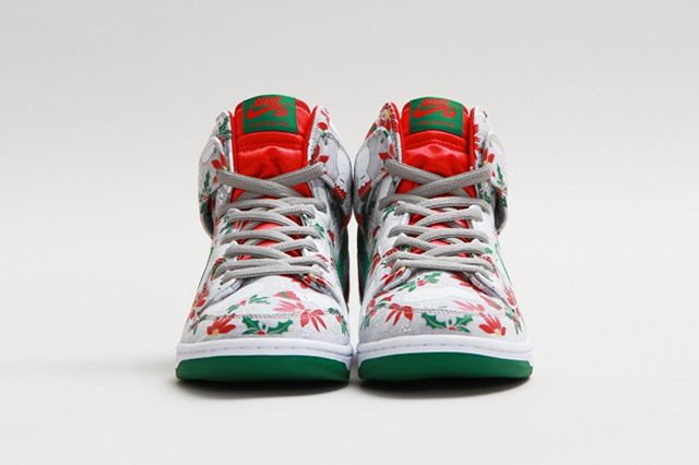 Concepts Nike Sb Dunk High Ugly Christmas Sweater 16