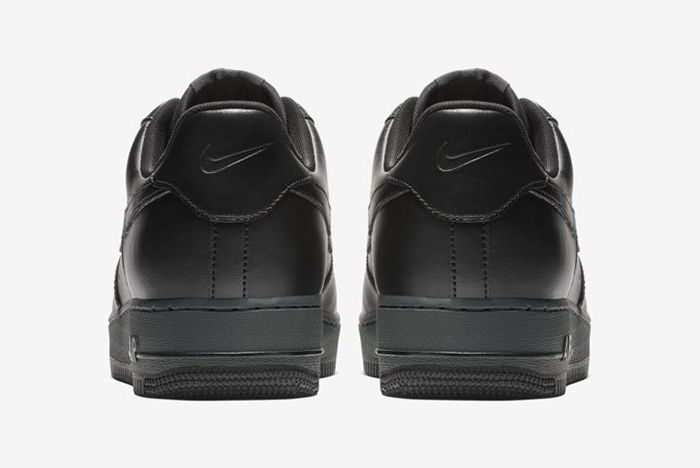 Nike Air Force 1 Low Flyleather Triple Black 4
