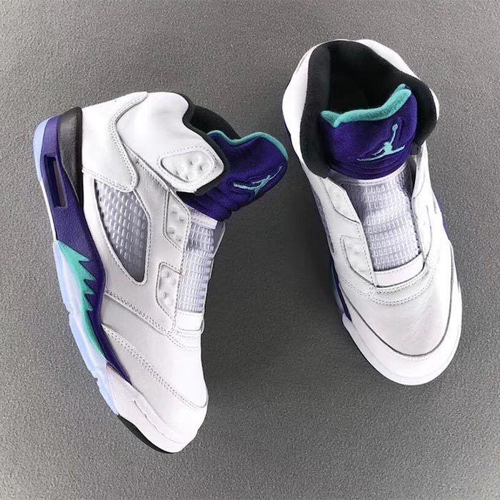 Air Jordan 5 Nrg Fresh Prince Grape 2018 7