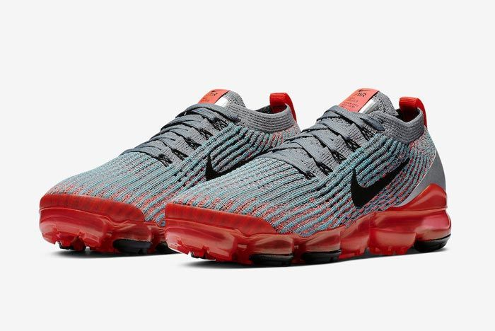 Nike Air Vapormax 3 Flash Crimson Pair