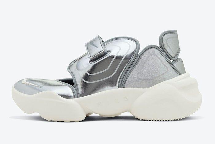 Nike Aqua Rift Silver CW5875-001 Lateral