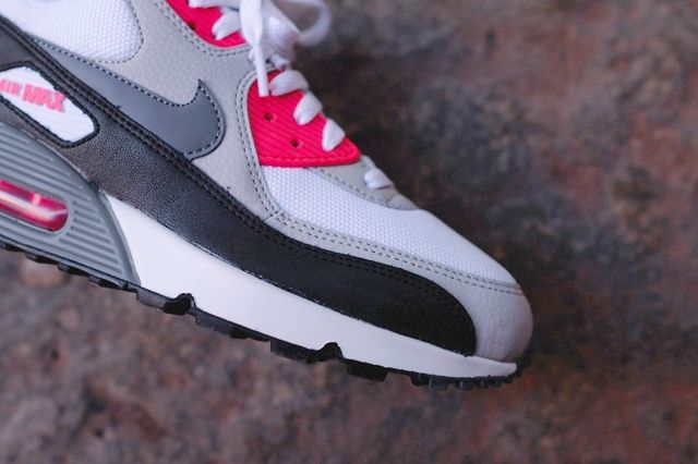 Nike Air Max 90 Essential Cl Grey Infrared 1