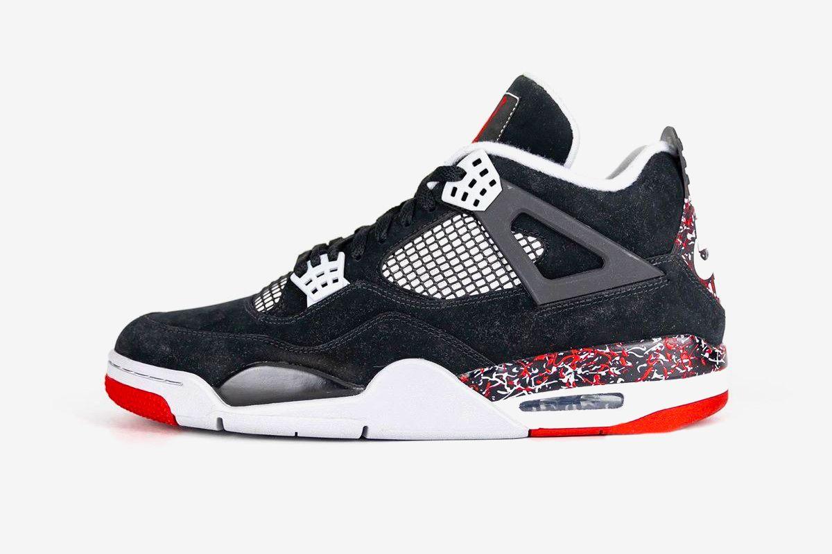 Air Jordan 4 'OVO Splatter'