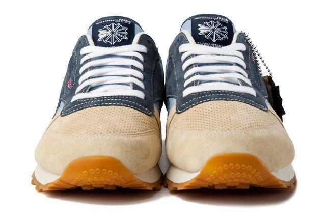 Mita Reebok Classic Leather Toe Profile 1