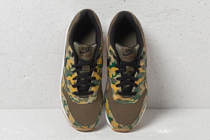Nike Air Max 1 Print Gs Medium Olive Black 5