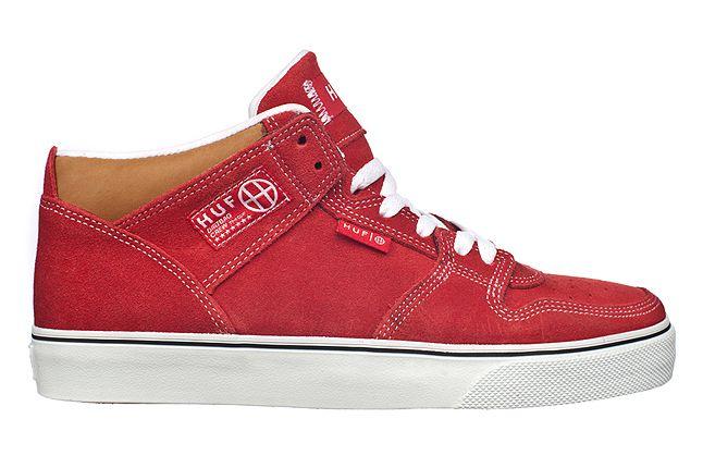 Huf Fall 2012 Footwear Huf 1 Vulc Red Wht Tan 1