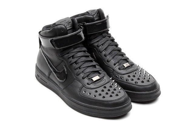 Nike Af1 Hi Downtown Spike Black Hero