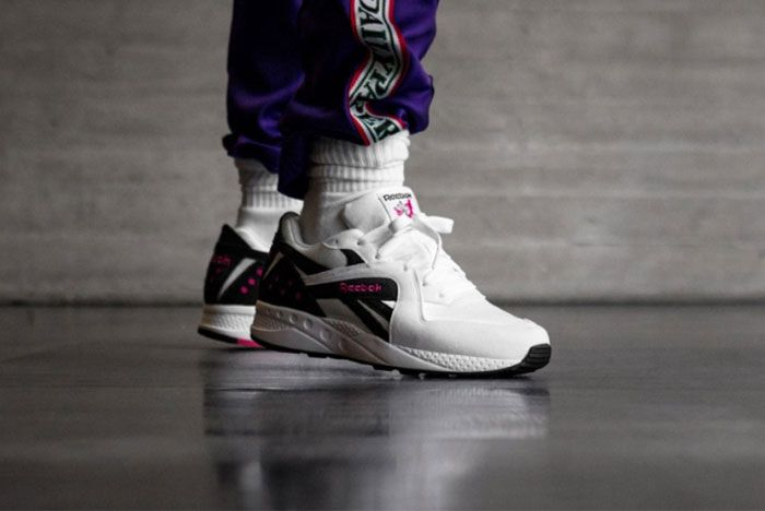 Reebok Pyro White Black Pink Right