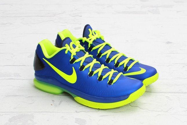Nike Kdv Elite Hypber Blue Volt Other Angle 1