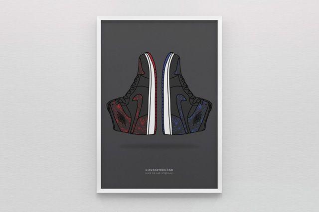 New Range Sneaker Art By Kick Posters 6