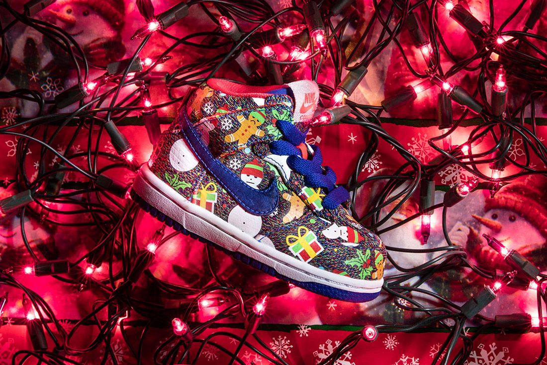 Concepts X Nike Sb Ugly Sweater Dunk 2017 Sneaker Freaker 10