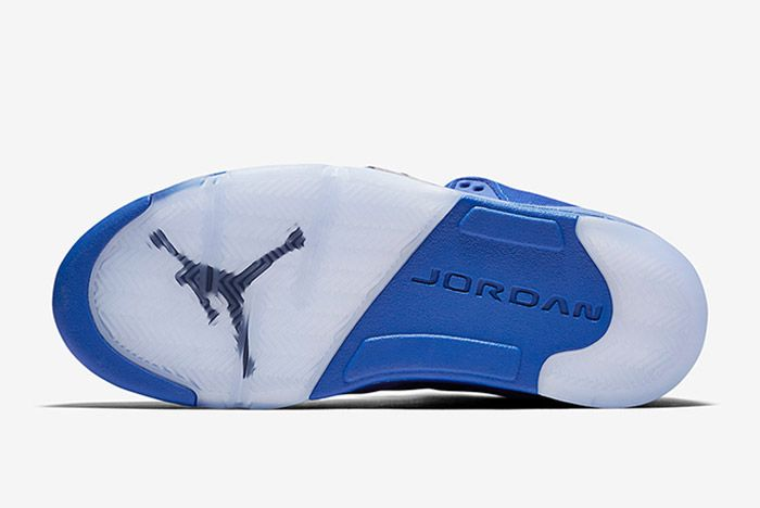 Air Jordan 5 Blue Suede 1