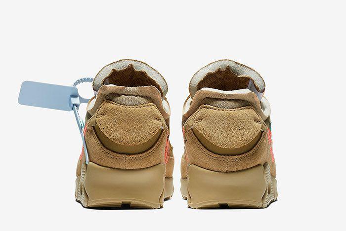 Off White Nike Air Max 90 Desert Ore Release Date 2