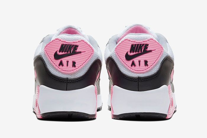 Nike Air Max 90 Rose Pink Cd0881 101 Heel Shot