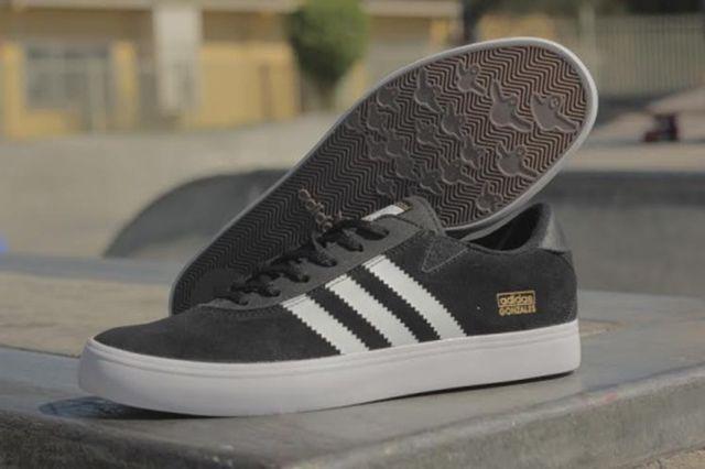 Adidas Gonzales Black White 3