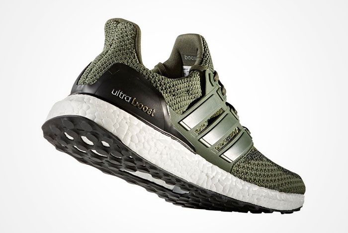 Adidas Ultra Boost Olive Green 2