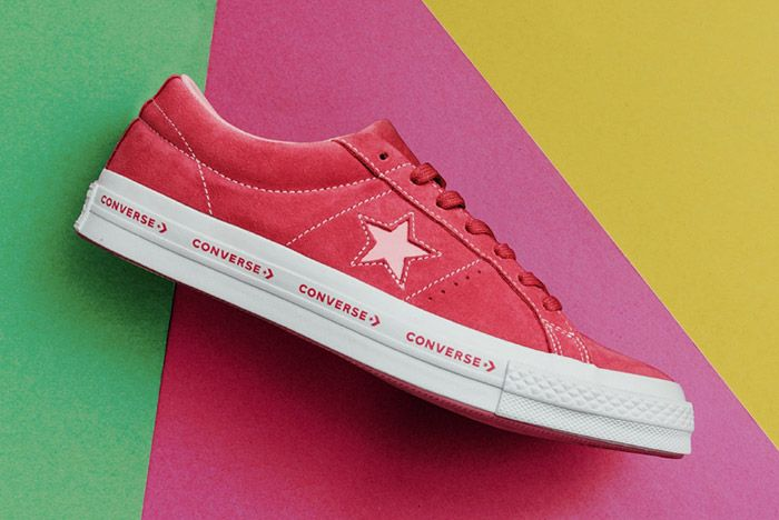 Converse One Star Suede Mint Pink Vanilla 7