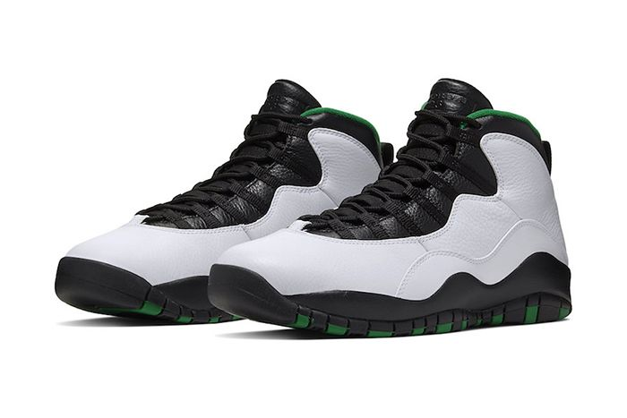 Air Jordan 10 Seattle 310805 137 Release Date Pair