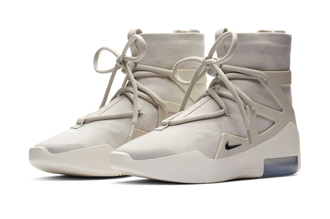Nike Air Fear Of God 1 Light Bone Ar4237 002