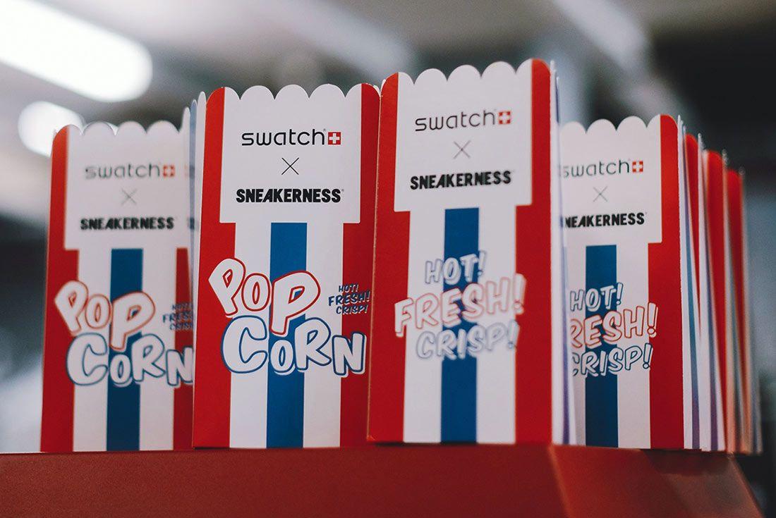 Sneakerness Paris 2018 Popcorn