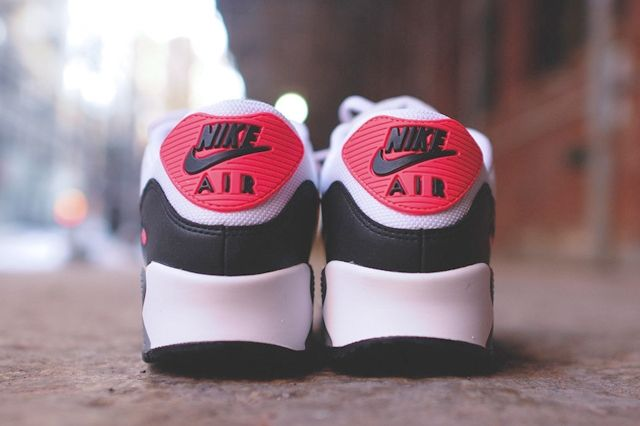 Nike Air Max 90 Essential Cl Grey Infrared 5