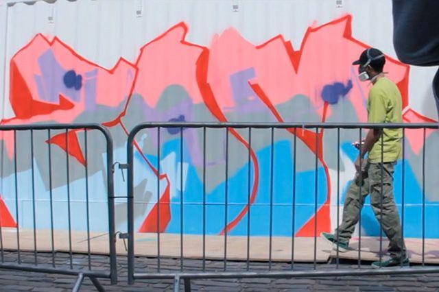 Boxpark Live Graffiti Zombie Dyet Dds
