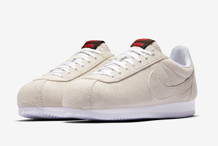 Stranger Things Nike Cortez Starcourt Mall Cj6107 100 Release Date 4 Pair