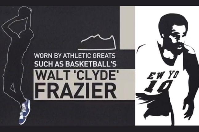 Puma Suede 45 Year Anniversary Walt Frazier 1