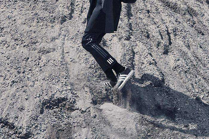 White Mountaneering Adidas Wm Racing Black On Feet 1