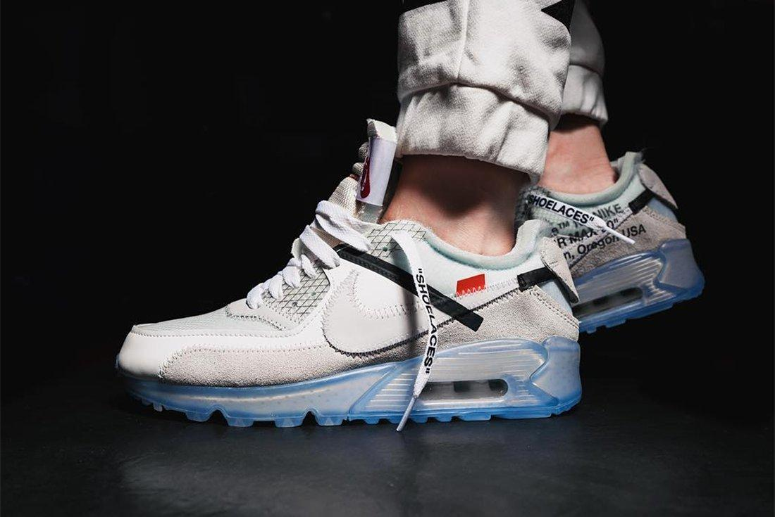 An On Foot Look At The Off White X Nike Air Max 902