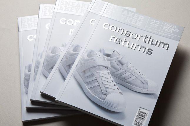 Consortium Sneaker Freaker Cover 1