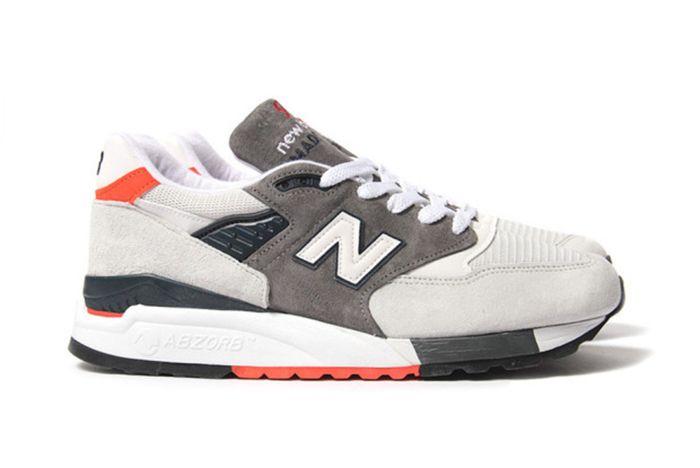 New Balance 998 Greyorange 3