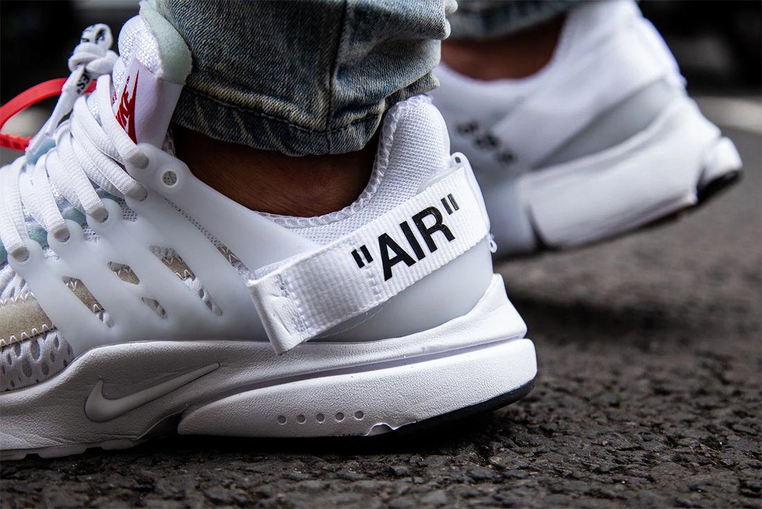 Off White Presto On Foot 2