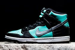 Diamond Supply Co X Nike Sb Dunk High Tiffany Dp