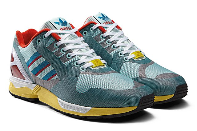 Adidas Originals Zx Flux 000 Og Weave Pack 14
