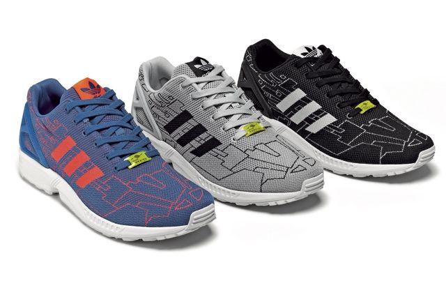 Adidas Originals Zx Flux Pattern Pack 14