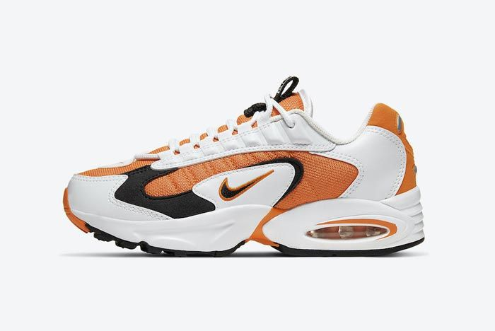 Nike Air Max Triax 96 Magma Orange Lateral