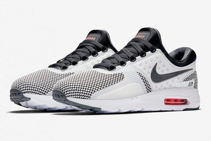 Nike Air Max Zero Dark Grey Summit White Red