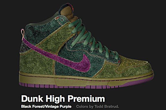 Nike Black Forest Dunk Hi Sb 2010 2