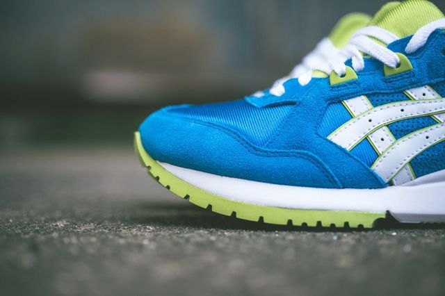 Asics Gt Cool Mid Blue Lime 4