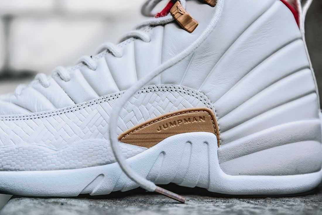 Air Jordan 12 Gs Chinese New Year2