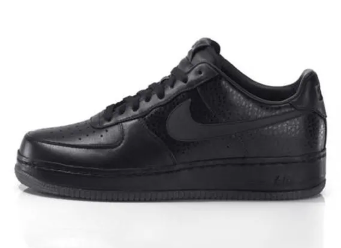 Nike Air Force 1 'All Black Everything USA'