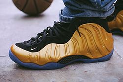 Nike Foamposite Metallic Gold Thumb