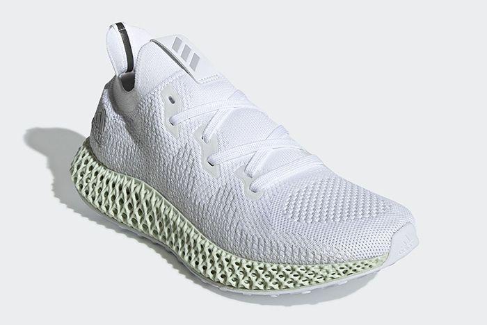 Adidas Alphaedge 4D White 2